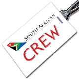 South African AirwaysCrew Tag